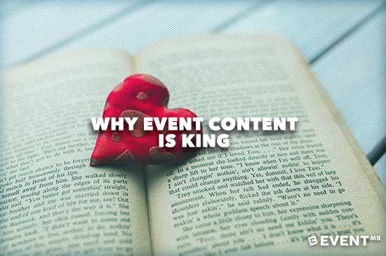 Why Event Content is King by @kevinlfj    https://t.co/Cisxz6sxbu  #eventprofs https://t.co/hDxn2399aQ