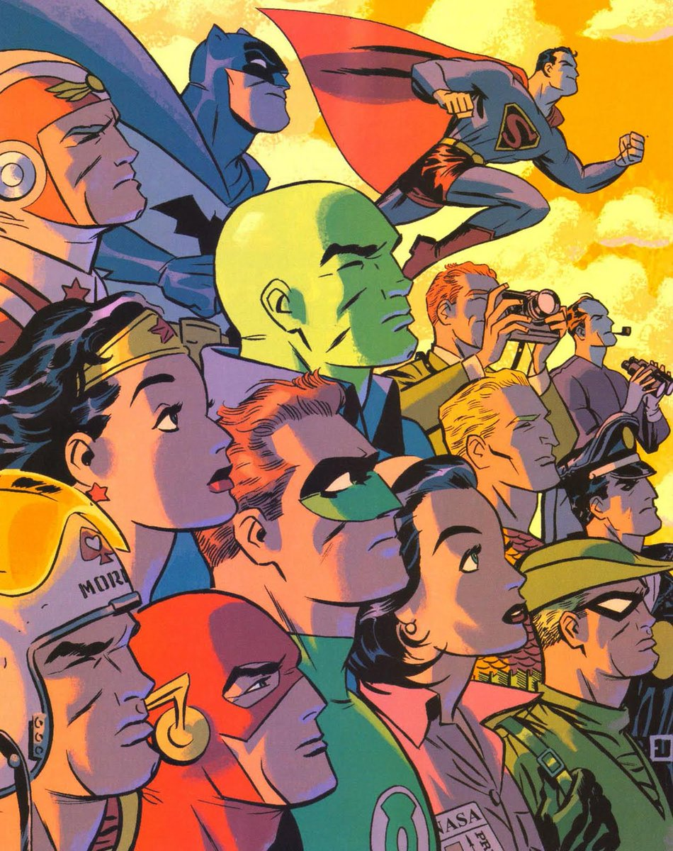 Darwyn Cooke was truly one of the greatest artists to work in comics. It's with heavy hearts we say #RIPDarwynCooke https://t.co/ed0J3JWn0p