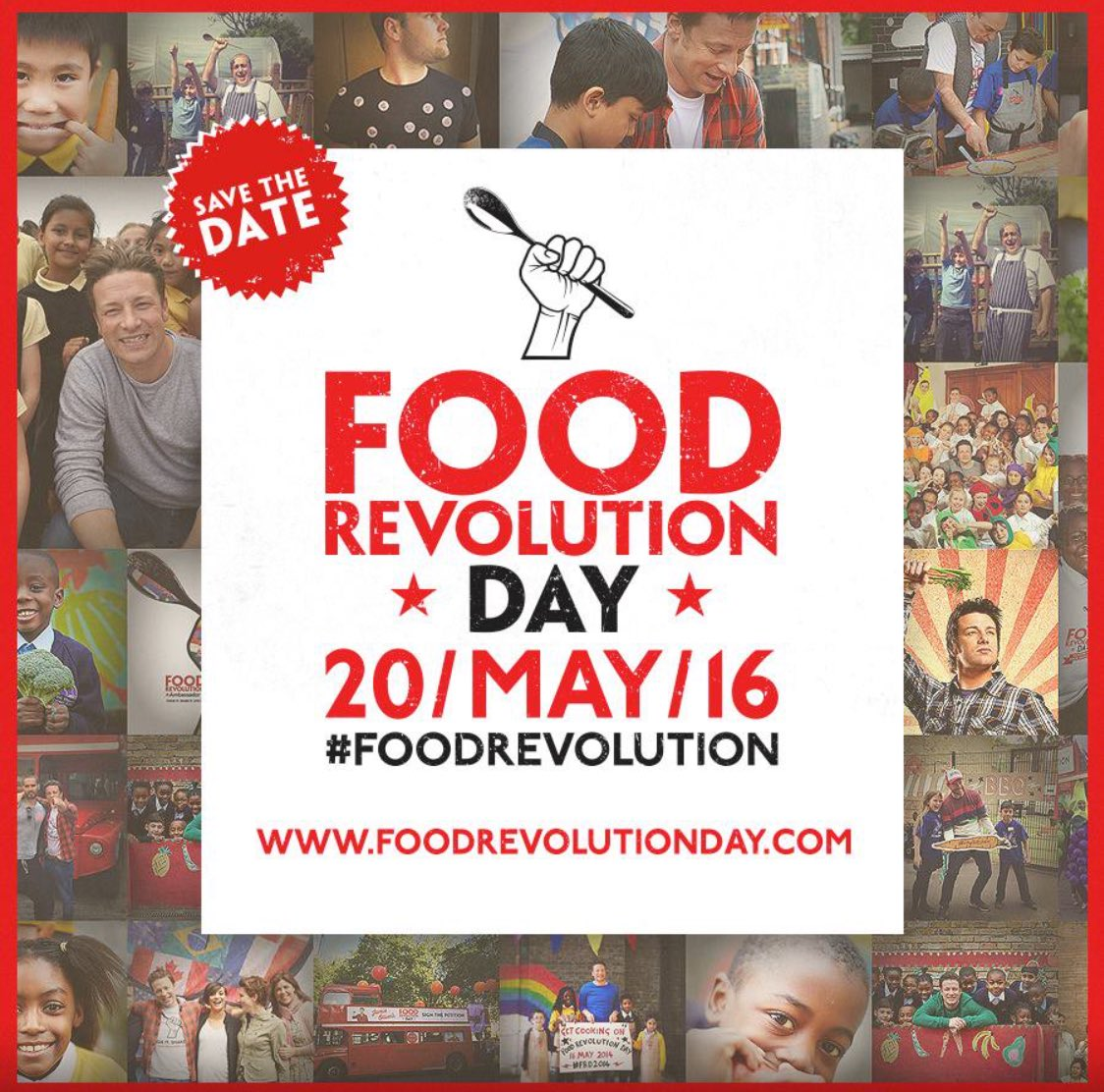 RT @Chefalilartiste: Save the date 20th May Jamie's #FoodRevolution Kenya are you ready? Let's teach our kids to eat & cook healthy https:/…