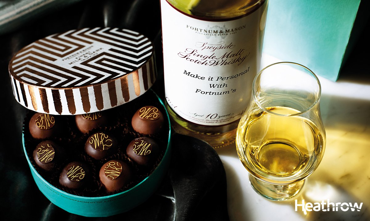 Rich & flavourful, personalise your bottle of Speyside Single Malt at @Fortnums T5