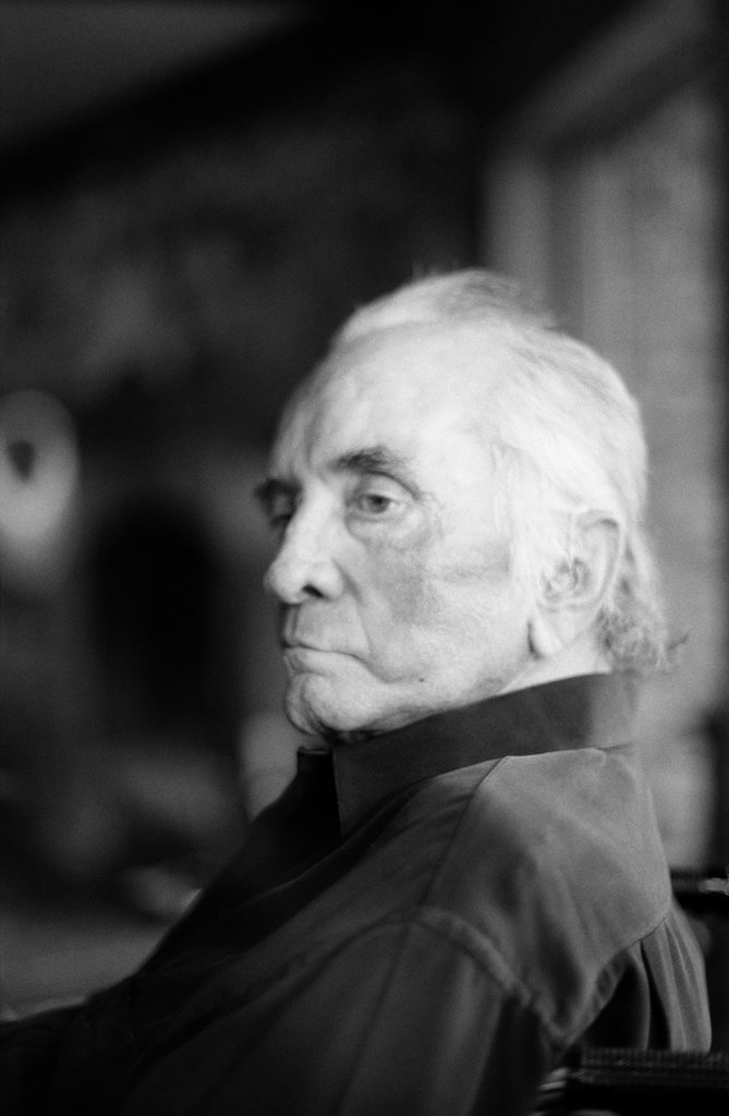 Johnny Cash  Last portrait  By Marty Stuart  September 8, 2003 https://t.co/w44lEHi31F
