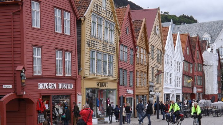 The Nordic charms of Bergen, Norway's most historic city: ttot @VisitNorway