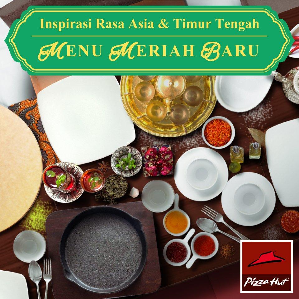Temukan keunikan inspirasi rasa dari Indonesia, Timur Tengah dan Asia dalam #MenuMeriahBaru di #PizzaHutID https://t.co/Z099IwdOUc