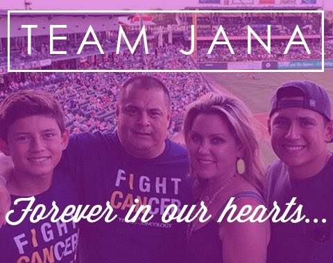 We are deeply saddened to announce the passing of Jana Almendarez: https://t.co/2lxecuy2f2 #TeamJana https://t.co/KAqeTYCF8c