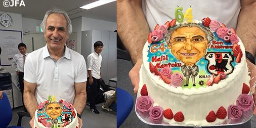 Happy Birthday! 本日5月15日は、ハリルホジッチSAMURAI BLUE監督 64歳の誕生日です。 (1952年5月15日生まれ) https://t.co/cQKUWJd5Er