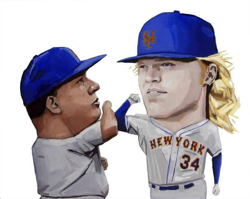 Bash Brothers. #Mets #LGM #BartoloColon #noahsyndergaard https://t.co/5b8569W76J