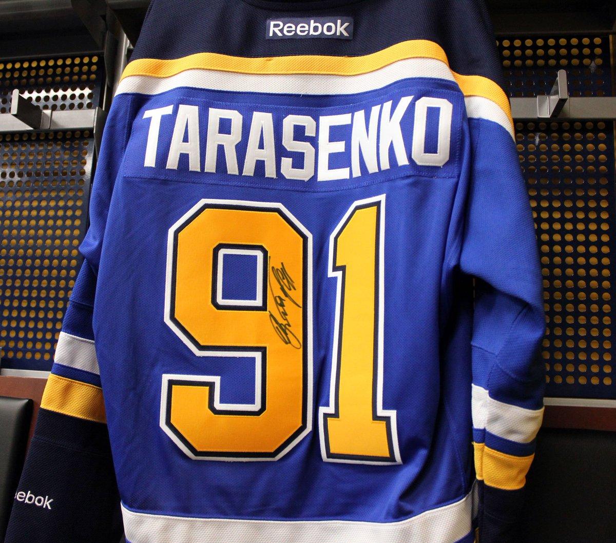 Last chance to win this signed Tarasenko jersey! RT & use #NHL17Tarasenko to enter. Winner will be announced Monday. https://t.co/lU7TJqJ9RF
