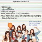 @Icypink_2015 [HELP RT] We are IOI dance cover from Yogyakarta. Check our picture for oprec and more info. Kamsha ^^ https://t.co/NJSkW0H6Dc