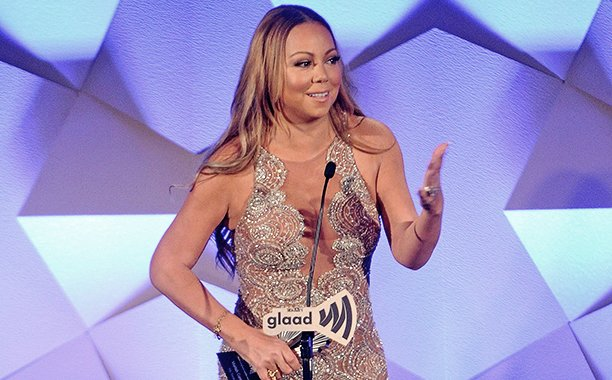 Mariah Carey accepts GLAADAwards honor and puts a Mimi-fied spin on