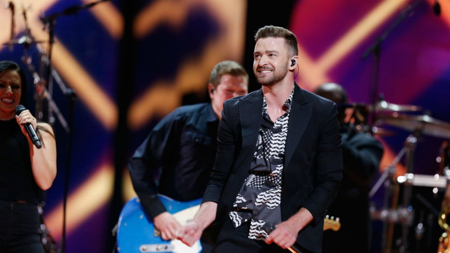 Watch Justin Timberlake perform