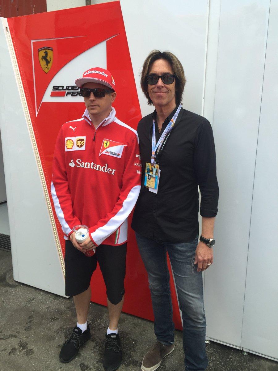 Barcelona. Good ole Kimi! Still going strong! /P. https://t.co/W6gT4cmkAz