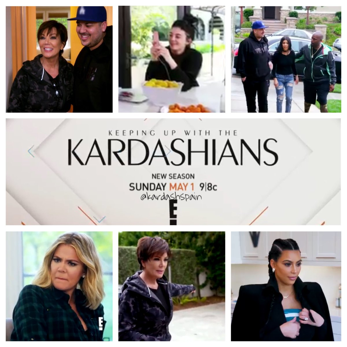 RT @kardashspain: Don't forget to tune #KUWTK tonight on E! at 9|8c @kourtneykardash @KimKardashian @khloekardashian @KrisJenner https://t.…