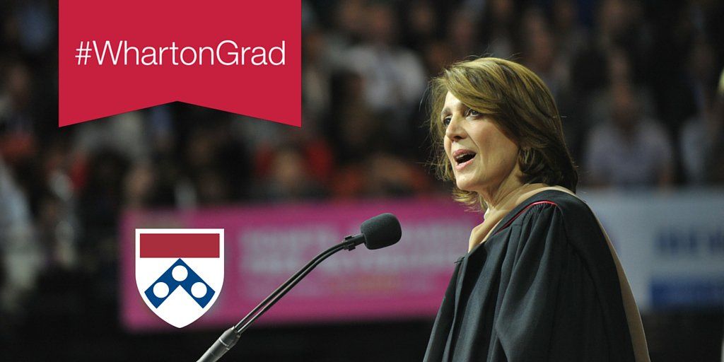 """""""You learn more by asking than by speaking. It's a sign of strength, not weakness."""" – Ruth Porat #WG87 #WhartonGrad https://t.co/qJUq7ykfV8"""