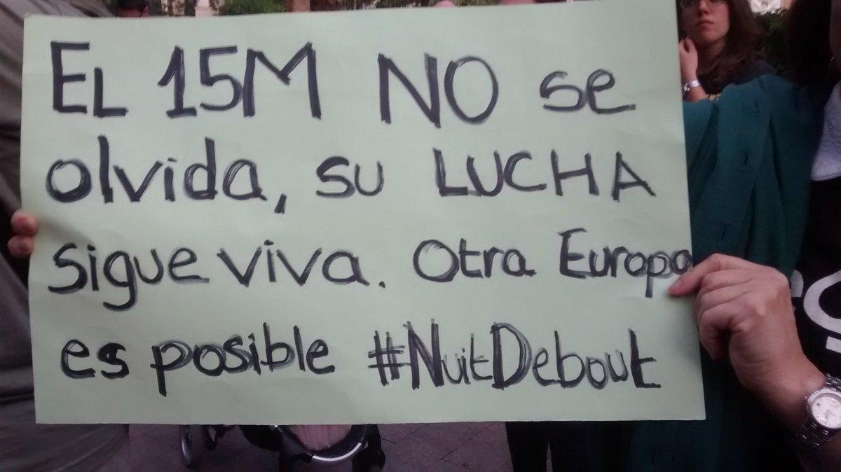 #15M Otra Europa es posible. Murcia. #GlobalDebout https://t.co/kTFgQCVCuo