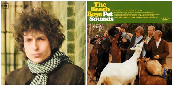 Happy 50th birthday to two of the greatest albums ever made : both released on this day in 1966. #PetSounds50 https://t.co/E5gcckIah3
