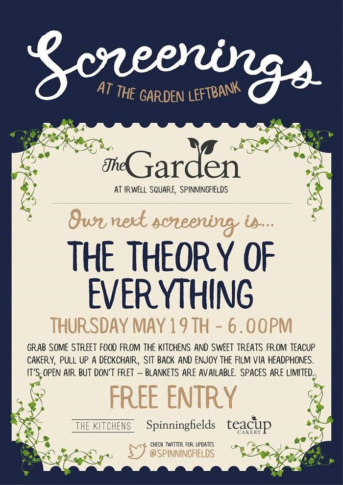#WIN front row seats to Thursday's screening, plus popcorn & cake! RT this & follow @Spinningfields & @Teacup_Cakery https://t.co/NLY9ld8lVG
