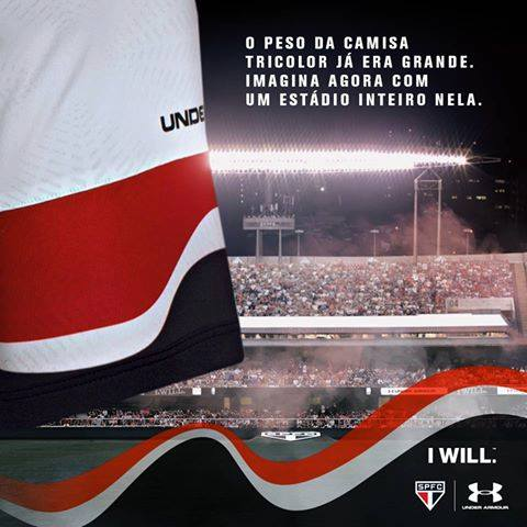 O Morumbi será eternizado no manto sagrado. É uma parte da história do @SaoPauloFC! https://t.co/ADlrpyfwam https://t.co/WGe7Jfi4N7