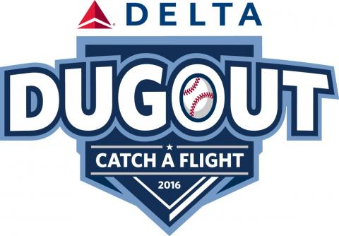 'Delta Dugout' celebrates airline's baseball team sponsorships, rewards fans.