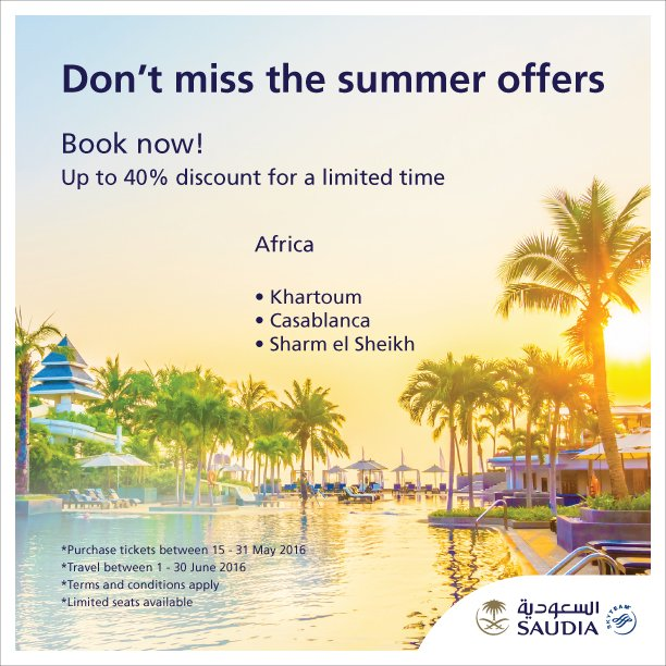 Don't miss the summer offers to Africa  Book