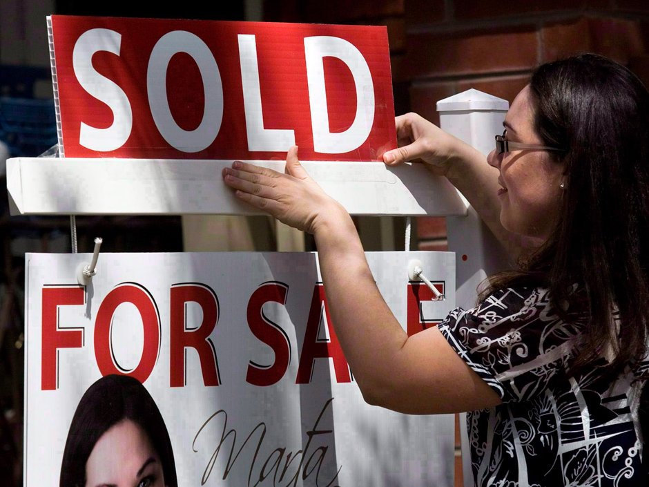 Canadian real estate just had its best month ever