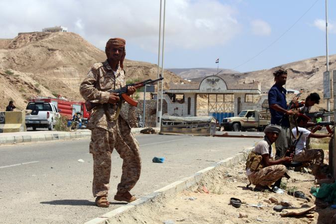ISIS suicide bomb kills 47 police in former al-Qaeda town in Yemen