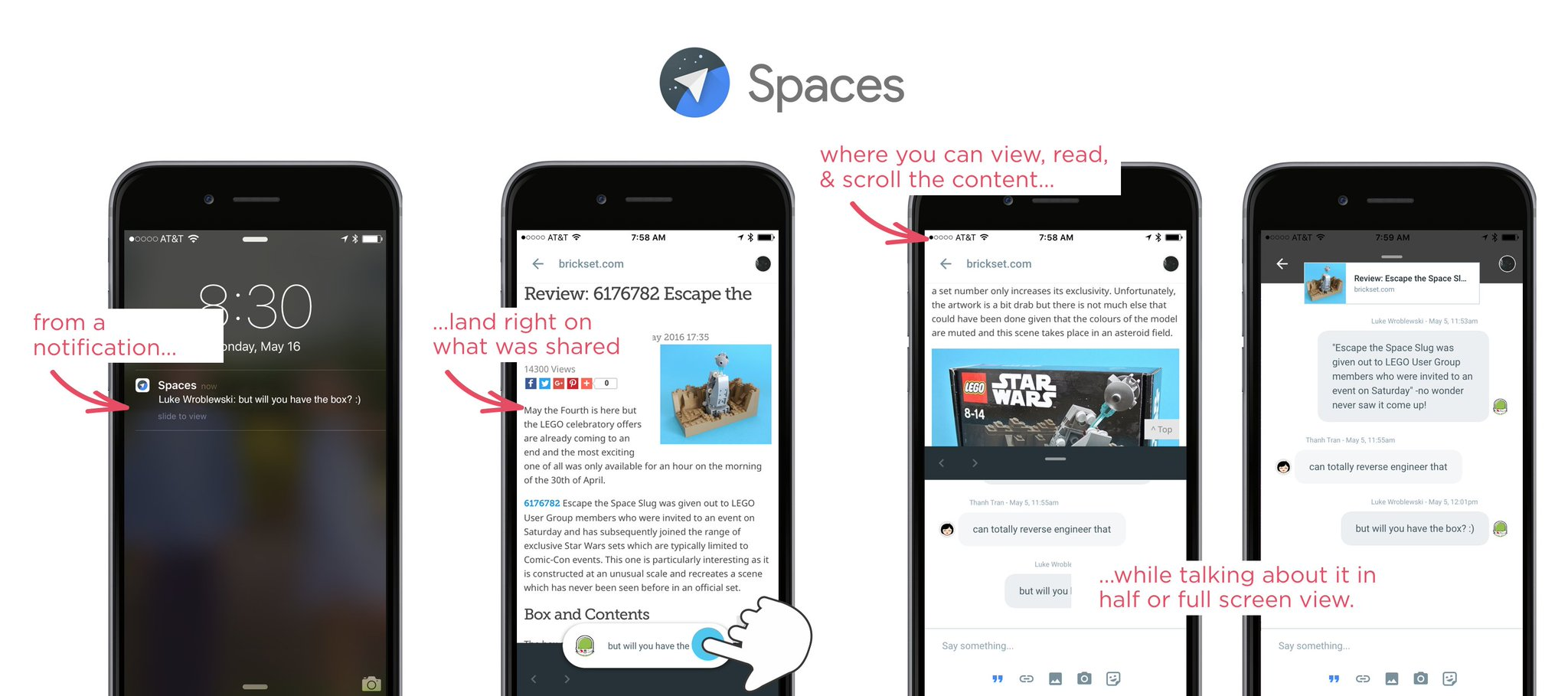 In Spaces, you can see, read, scroll, etc. what people are talking about while discussing it. https://t.co/XceJcrFAv6