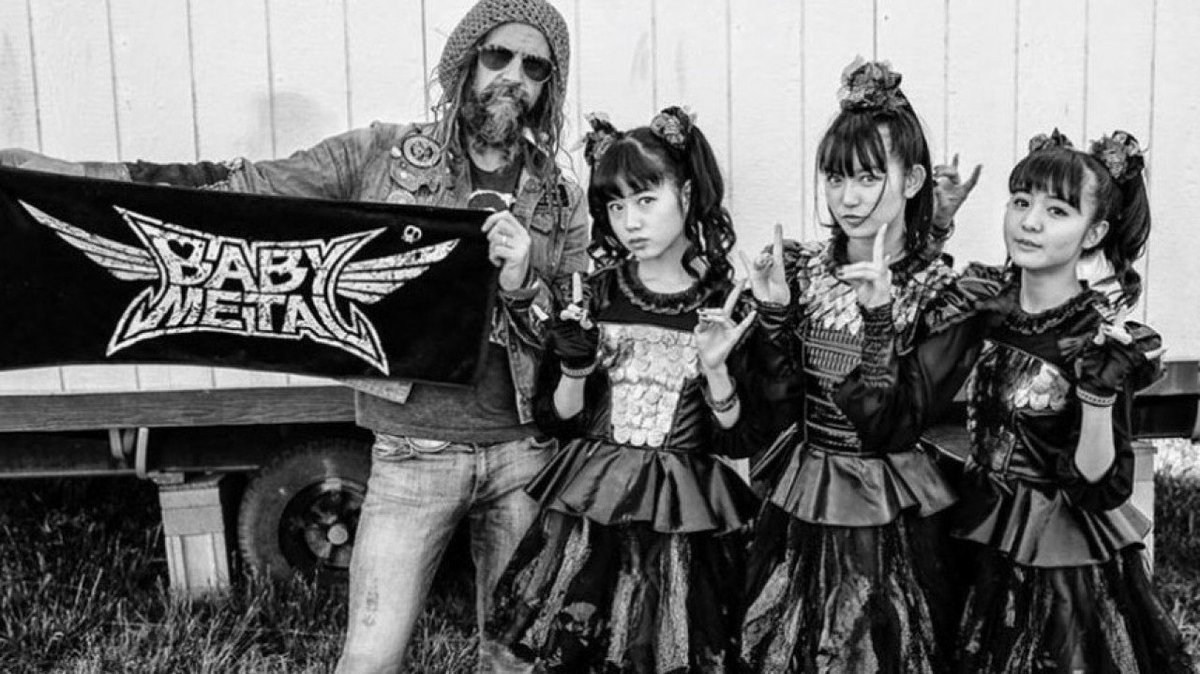 .@RobZombie says @BABYMETAL_JAPAN have 'made death metal cute' https://t.co/HJqhOMCYX1 https://t....
