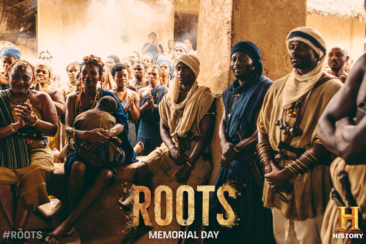This story begins before slavery...#ROOTS https://t.co/U0pA724sjf