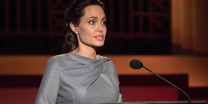 Angelina Jolie Pitt urges world leaders to unite and address refugee crisis in BBC speech