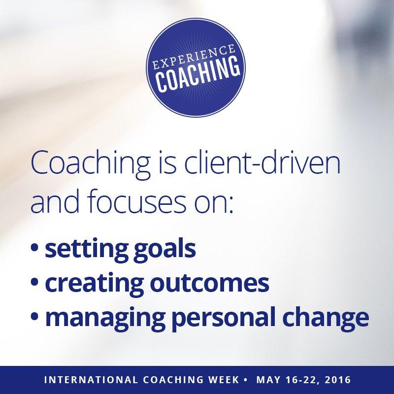 What is #coaching? #ExperienceCoaching during International Coaching Week! https://t.co/1clxAlgDug https://t.co/OoTtIM49m7