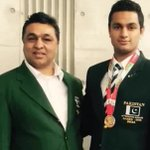 Shah Hussain Shah, son of boxing legend Hussain Shah, has qualified for RioOlympics 2016 Judo championship. https://t.co/Y7bQrMkoFm
