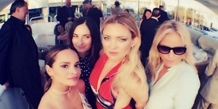 Kate Hudson, Victoria Beckham and more stars have fun sharing Cannes2016 moments on Insta