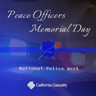Thank you to all Peace Officers. Especially, to those who've made the ultimate sacrifice. #NationalPoliceWeek https://t.co/Qv7nGQZk8H