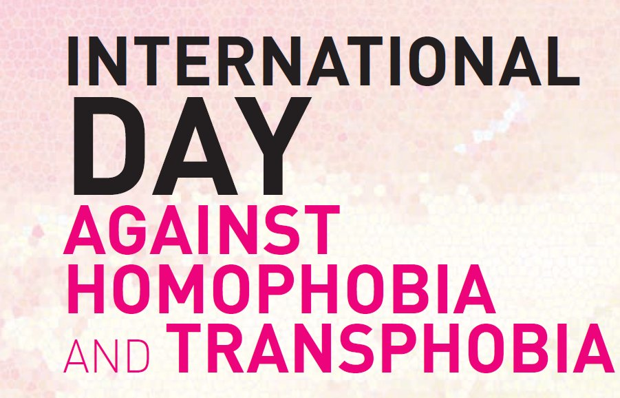 Today is International Day Against Homophobia & Transphobia, embracing diversity & acceptance of all #IDAHOT https://t.co/n0ACxvxVfJ