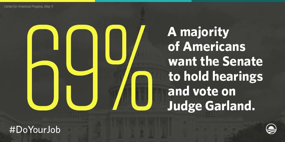 Retweet if you agree Senate leadership should stop obstructing the #SCOTUS nomination process. #DoYourJob https://t.co/76yQYclUlD
