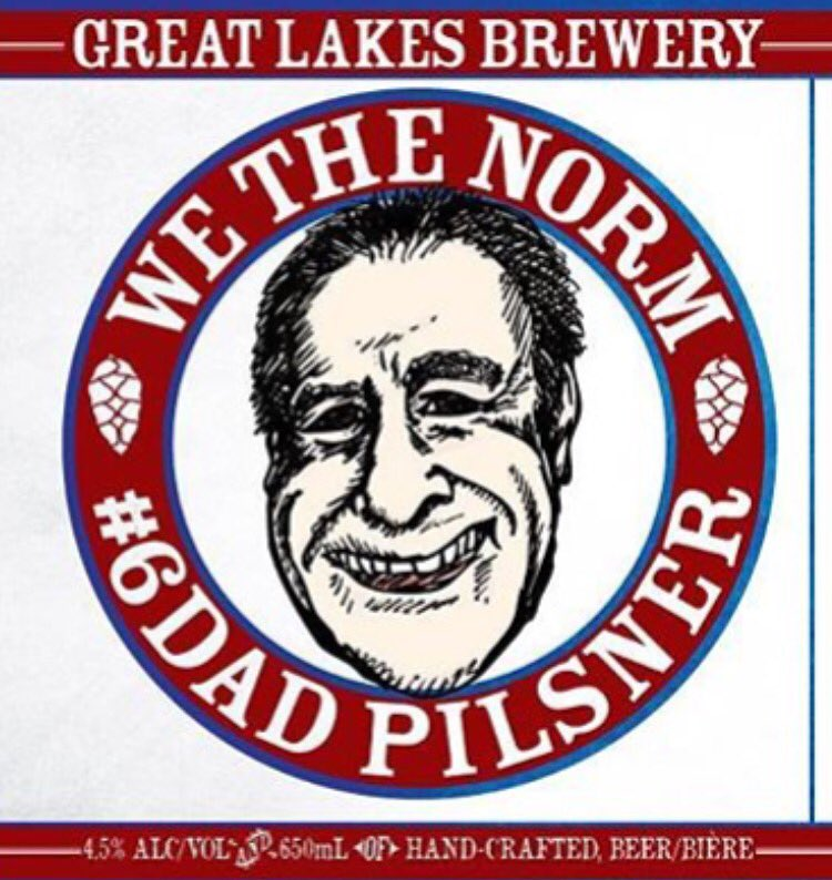 The ONLY way to taste #WeTheNorm Pilsner from @norm + @GreatLakesBeer is @brewersplateTO on Wed! #rocktheplate https://t.co/3fFbly1SVY