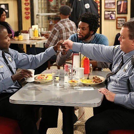 My dudes. @nyambinyambi @billygardell #mikeandmolly #seriesfinale https://t.co/CJQwy5zaRy https://t.co/kqZGZp0FbI
