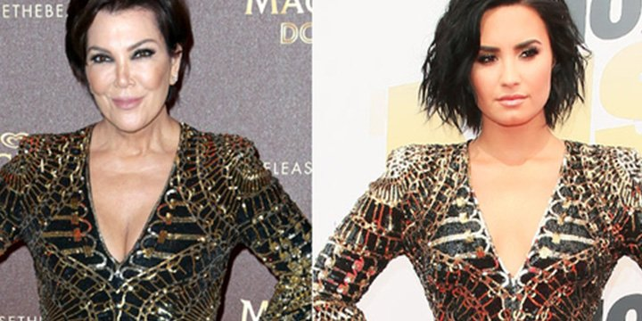 The many fashion face-offs of kopycat Kris Jenner via @People_Style