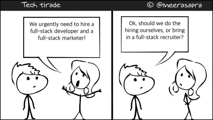Full-stack hiring. #comic #tech #TechTuesday https://t.co/lC4lgno3sP