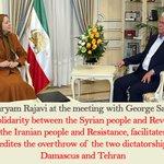 The solidarity between syrian people & #Iran-ian people. #FreeIran https://t.co/z8ExXeRfL8