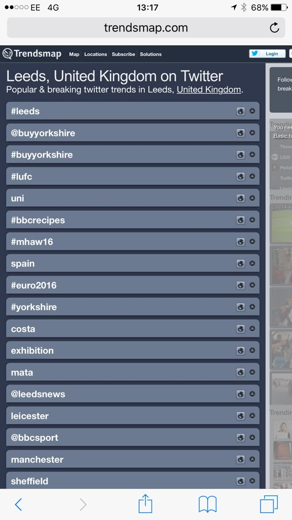 Still trending at 2nd and 3rd spots... #buyyorkshire @BuyYorkshire https://t.co/9bQbijatUL