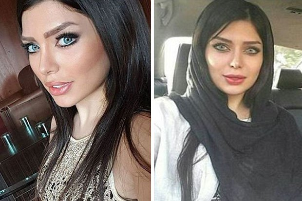 hot iran women