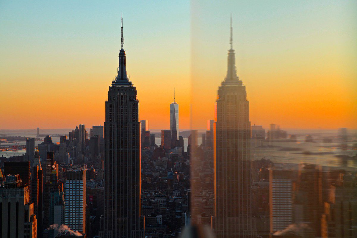 Love New York? Fly daily to the Big Apple from BHX with @united and @AmericanAir