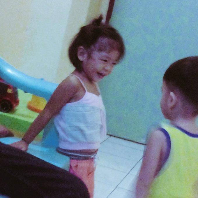 Kaka-2 yrs old lang nitong pamangkin ko breezy moves na agad oh haha happy birthday kenzo!!