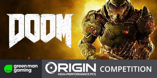 We've teamed up with  @GreenManGaming to bring you DOOM keys! Sign up for your chance to win https://t.co/0P6V6gY0lV https://t.co/GZf1tUzaLG
