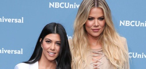 Kourtney & Khloe Kardashian do New York in style while the rest of the clan party in Cannes!
