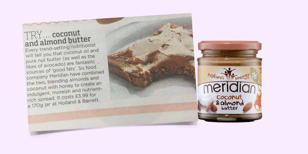Spotted! Have you indulged in this delicious @MeridianFoods nut butter? https://t.co/CMsb5WaWJz