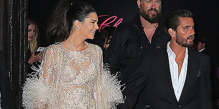 Scott Disick parties with Kendall and Kris Jenner in Cannes