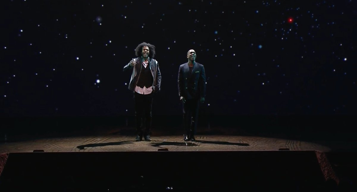 .@HamiltonMusical stars @leslieodomjr  and @DaveedDiggs sing @ESPN Upfront https://t.co/lgbwMFhP5P https://t.co/bjKOcqaP3Y