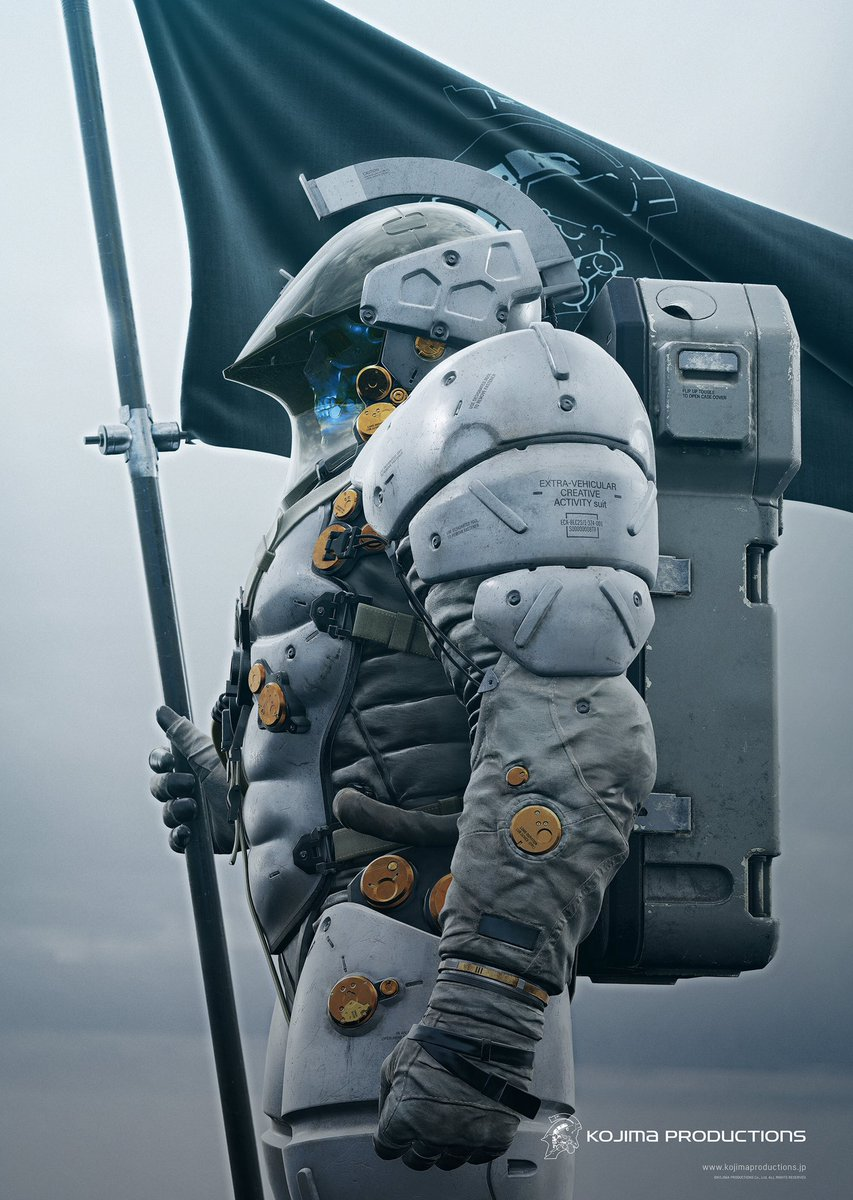 1/3 LUDENS, the icon of Kojima Productions. https://t.co/brM16iFgNi